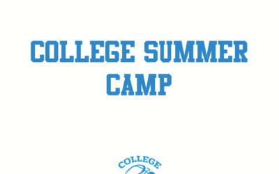 COLLEGE SUMMER CAMP IS BACK