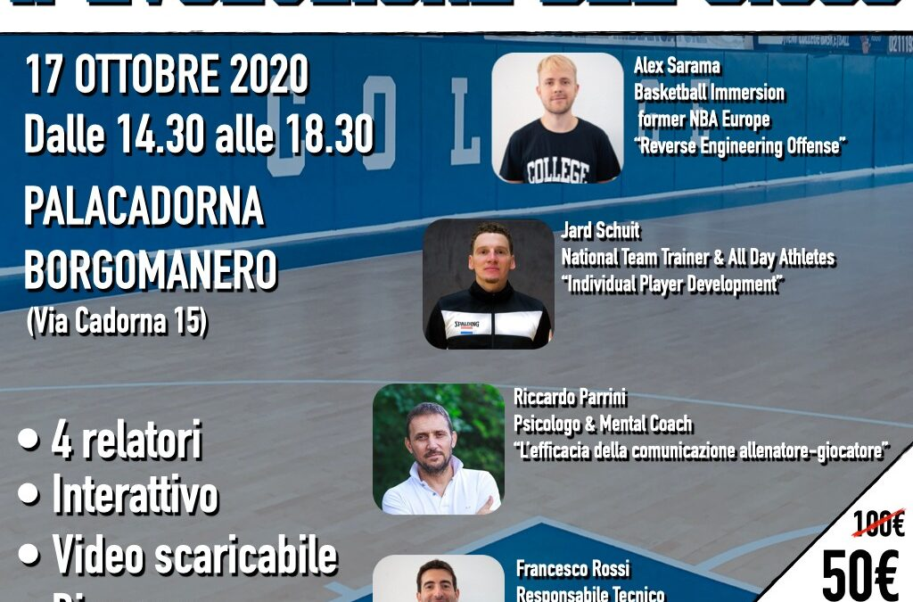 PRIMO CLINIC STAGIONALE 2020-2021