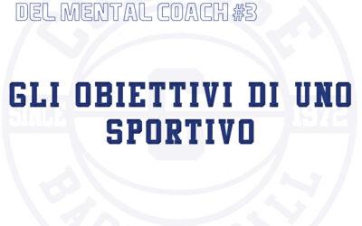 Le pillole del mental coach #3 – Gli obiettivi di uno sportivo