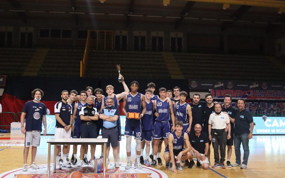 U18 ECCELLENZA – COLLEGE BEATS NOVIPIÙ CAMPUS AND WINS THE TITLE
