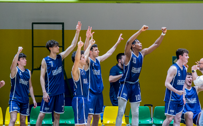 G GOLD – COLLEGE COMES BACK FROM SIENA WITH A +18, SUNDAY AT CADORNA THE SECOND LEG